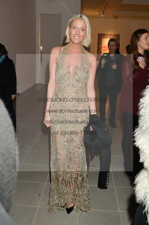 The HON.SOPHIA HESKETH at the Future Contemporaries Party in association with Coach at The Serpentine Sackler Gallery, West Carriage Drive, Kensington Gardens, London on 21st February 2015.