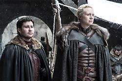 September 1, 2017 - Daniel Portman, Gwendoline Christie..'Game Of Thrones' (Season 7) TV Series - 2017 (Credit Image: © Hbo/Entertainment Pictures via ZUMA Press)