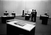 14/11/1967<br /> 11/14/1967<br /> 14 November 1967<br /> ROSC 1967 Exhibition at the National Museum. The exhibition of Celtic Art held at the National Museum, Kildare Street in connection with the ROSC Exhibition of Modern Art was opened to the public on Tuesday.   Picture shows a general view of part of the exhibition at the Museum.