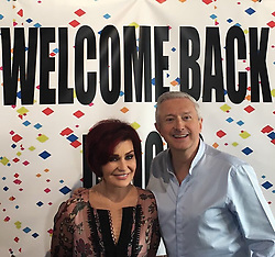 """Sharon Osbourne releases a photo on Instagram with the following caption: """"Day One Dusted! Love the #xfactor team, it's brilliant to be back."""". Photo Credit: Instagram *** No USA Distribution *** For Editorial Use Only *** Not to be Published in Books or Photo Books ***  Please note: Fees charged by the agency are for the agency's services only, and do not, nor are they intended to, convey to the user any ownership of Copyright or License in the material. The agency does not claim any ownership including but not limited to Copyright or License in the attached material. By publishing this material you expressly agree to indemnify and to hold the agency and its directors, shareholders and employees harmless from any loss, claims, damages, demands, expenses (including legal fees), or any causes of action or allegation against the agency arising out of or connected in any way with publication of the material."""