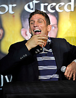 Alex Reid and Jason Barrett announce their forthcoming MMA Cage Fight. London, England - 20.07.11