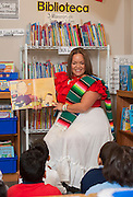Yudith Vasquez teaches reading to her 2nd grade ESL class at Robinson Elementary School, May 3, 2013.