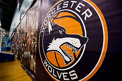 University of Worcester Arena, home to Worcester Wolves - Mandatory by-line: Robbie Stephenson/JMP - 05/10/2018 - BASKETBALL - University of Worcester Arena - Worcester, England - Bristol Flyers v Worcester Wolves - British Basketball League