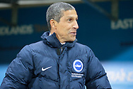 Brighton & Hove Albion manager Chris Hughton before the EFL Sky Bet Championship match between Rotherham United and Brighton and Hove Albion at the AESSEAL New York Stadium, Rotherham, England on 7 March 2017. Photo by Mark P Doherty.