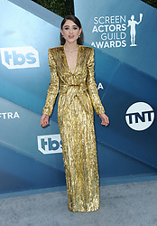 Natalia Dyer at the 26th Annual Screen Actors Guild Awards held at the Shrine Auditorium in Los Angeles, USA on January 19, 2020.