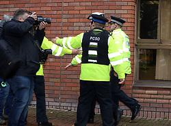 Wayne Rooney arrives at Stockport Magistrates Court this morning to face a drink driving charge<br /><br />18 September 2017.<br /><br />Please byline: Vantagenews.com