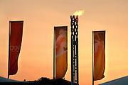 Torino il braciere Olimpico