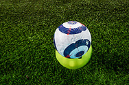 A general view of the latest Premier League Nike match ball football before the Premier League match between Wolverhampton Wanderers and Leeds United at Molineux, Wolverhampton, England on 19 February 2021.