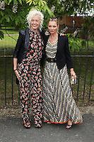 Ellen von Unwerth, Kate Moss, The Serpentine Gallery Summer Party, Serpentine Gallery, London UK,  06 July 2016, Photo by Richard Goldschmidt