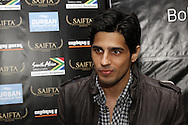 DURBAN - 5 September 2013 - Bollywood star Sidharth Malhotra faces up to the media in Durban, South Africa, where he is attending the South Africa India Film and Television Awards. Picture: Giordano Stolley