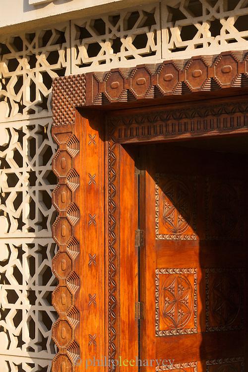 Doorway detail, Dubai, United Arab Emirates