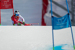 18-02-2018 KOR: Olympic Games day 9, Pyeongchang<br /> Alpine Skiing Men's Giant Slalom at Yongpyong Alpine Centre / Loic Meillard of Switzerland