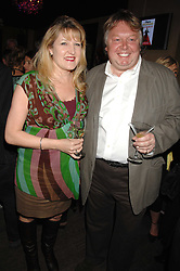 AMANDA ROSS and NICK FERRARI at a party to celebrate the publication of Piers Morgan's book 'Don't You Know Who I Am?' held at Paper, 68 Regent Street, London W1 on 18th April 2007.<br /><br />NON EXCLUSIVE - WORLD RIGHTS