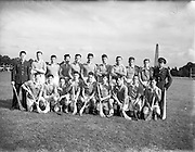 22/09/1955<br /> 09/22/1955<br /> 22 September 1955<br /> Army Semi-Final: Eastern Command v Southern Command at Phoenix Park, Dublin. Eastern Command Team.