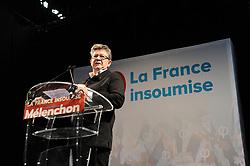 June 18, 2017 - Marseille, FRANCE - Soiree electorale du 2nd tour des elections legislavites de Jean Luc Melenchon - Candidat La France Insoumise (LFI) dans la 4eme circonscription des Bouches du Rhone qui est elu avec environ 60% de voix (Credit Image: © Panoramic via ZUMA Press)