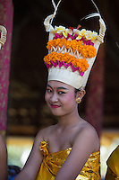 """A Balinese dancer at the Pura Besakih Temple on Bali<br /> Available as Fine Art Print in the following sizes:<br /> 08""""x12""""US$   100.00<br /> 10""""x15""""US$ 150.00<br /> 12""""x18""""US$ 200.00<br /> 16""""x24""""US$ 300.00<br /> 20""""x30""""US$ 500.00"""