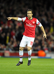 Arsenal's Mathieu Flamini - Photo mandatory by-line: Joe Meredith/JMP - Tel: Mobile: 07966 386802 19/02/2014 - SPORT - FOOTBALL - London - Emirates Stadium - Arsenal v Bayern Munich - Champions League - Last 16 - First Leg