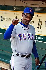 20110921 - Texas Rangers at Oakland Athletics (MLB Baseball)