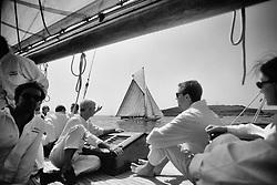 Fife Regatta 1998..Moonbeam Deck Life