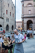 ITALY, RIMINI, aperitivo besides Teatro Galli