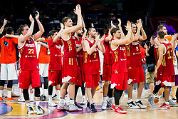 Players of Russia after the basketball match between National Teams  Spain and Russia at Day 18 in 3rd place match of the FIBA EuroBasket 2017 at Sinan Erdem Dome in Istanbul, Turkey on September 17, 2017. Photo by Vid Ponikvar / Sportida
