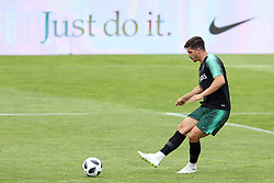 May 30, 2018 - Oeiras, Portugal - Portugal's forward Andre Silva in action during a training session at Cidade do Futebol (Football City) training camp in Oeiras, outskirts of Lisbon, on May 30, 2018, ahead of the FIFA World Cup Russia 2018 preparation matches against Belgium and Algeria...........during the Portuguese League football match Sporting CP vs Vitoria Guimaraes at Alvadade stadium in Lisbon on March 5, 2017. Photo: Pedro Fiuzaduring the Portugal Cup Final football match CD Aves vs Sporting CP at the Jamor stadium in Oeiras, outskirts of Lisbon, on May 20, 2015. (Credit Image: © Pedro Fiuza via ZUMA Wire)