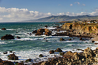 Arched Rock, nr. Portuguese Beach, Sonoma County,  Point Reyes National Seashore, California, USA