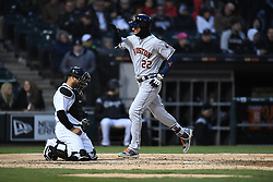 April 21, 2018 - Chicago, IL, U.S. - CHICAGO, IL - APRIL 21:  during a game between  the Houston Astros the Chicago White Sox on April 21, 2018, at Guaranteed Rate Field, in Chicago, IL. (Photo by Patrick Gorski/Icon Sportswire) (Credit Image: © Patrick Gorski/Icon SMI via ZUMA Press)