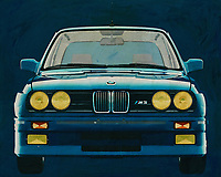 BMW E-30 M3 from 1991<br /> Legendary! That's the BMW M3 and nothing else. As soon as you have your driver's license you want a BMW like that otherwise you are not worth your license many BMW enthusiasts will agree. You can get this BMW M3 in the house with this painting; To drive me with it you will have to save some more. -<br /> <br /> BUY THIS PRINT AT<br /> <br /> FINE ART AMERICA<br /> ENGLISH<br /> https://janke.pixels.com/featured/bmw-e-30-m3-from-1991-front-side-jan-keteleer.html<br /> <br /> WADM / OH MY PRINTS<br /> DUTCH / FRENCH / GERMAN<br /> https://www.werkaandemuur.nl/nl/shopwerk/BMW-E-30-M3-1991/571778/132