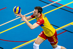 Jeroen Rauwerink of Dynamo in action during the league match between Draisma Dynamo vs. Amysoft Lycurgus on March 13, 2021 in Apeldoorn.