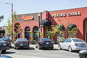 Bastards BBQ & Sports Bar and Peking China Restaurants on Downey Ave