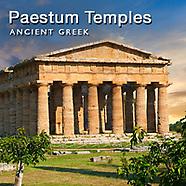 Pictures of Paestum Greek Doric Temples. Photos & Images of Paestum
