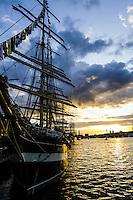 Sweden, Stockholm. Tall Ships Race Stockholm 2007. Kruzenshtern.