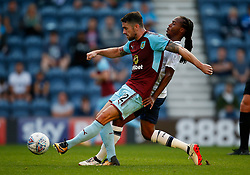 Burnley's Robbie Brady and Preston North End's Daniel Johnson - Mandatory by-line: Matt McNulty/JMP - 25/07/2017 - FOOTBALL - Deepdale Stadium - Preston, England - Preston North End v Burnley - Pre-Season friendly