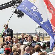NLD/Terneuzen/20190831 - Start viering 75 jaar vrijheid, Koning Willem Alexander en Koning Filip van Belgie en Mark Rutte