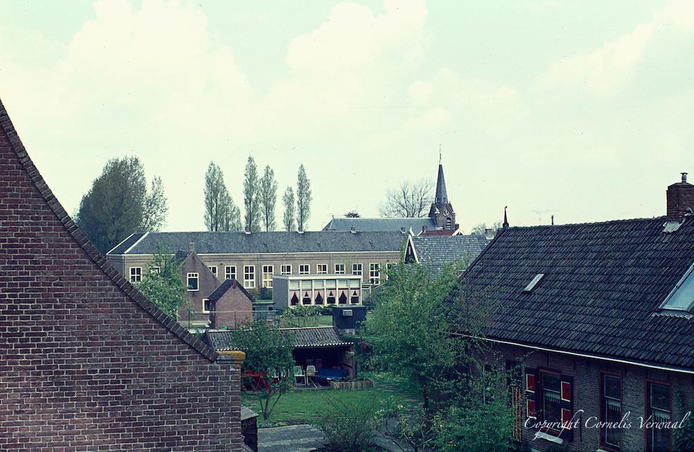 Ammerstol uitzicht vanaf de Lekdijk anno 1977.