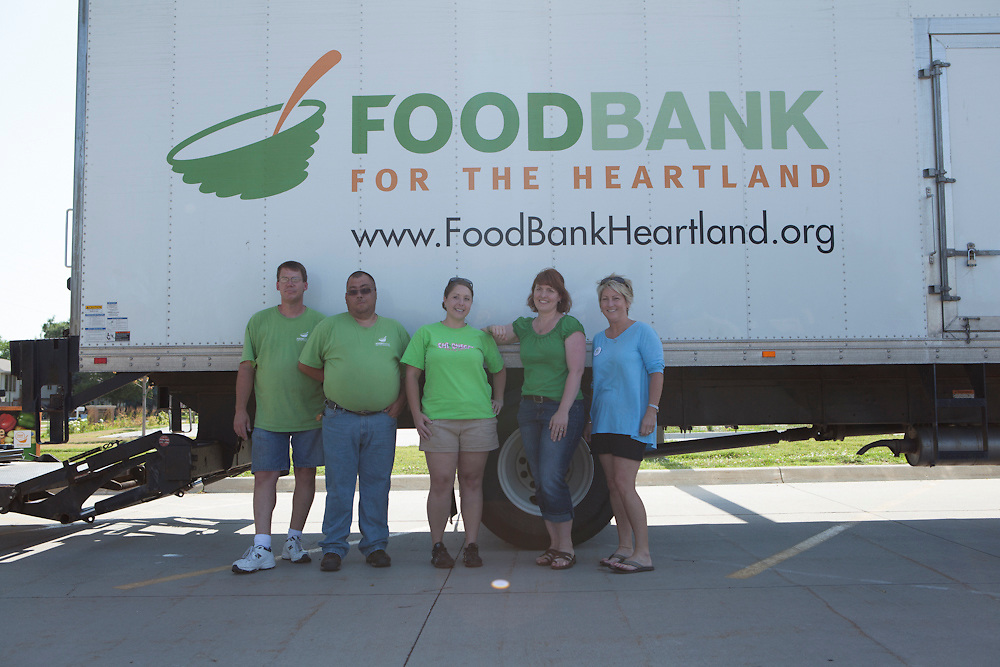 13 June 2012- Foodbank is photographed at the Edward F Owen Memorial Library for Physician's Bulletin.