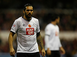 Bradley Johnson of Derby County - Mandatory byline: Jack Phillips / JMP - 07966386802 - 6/11/2015 - FOOTBALL - The City Ground - Nottingham, Nottinghamshire - Nottingham Forest v Derby County - Sky Bet Championship