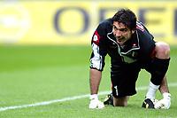 Milano 22/3/2003<br />Milan-Juventus 2-1<br />Gianluigi Buffon