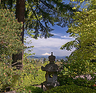 Scenes from the Japanese Gardens in Portland, Oregon.