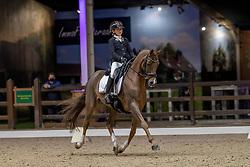 Leduc Elisabeth, BEL,Baldato<br /> Belgisch Kampioenschap Dressuur<br /> Azelhof - Lier 2020<br /> © Hippo Foto - Dirk Caremans<br /> 02/10/2020
