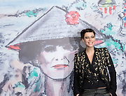 Anna Mouglalis poses for a photograph at Chanel Fashion Show in Shanghai, on December 3, 2009. Photo by Lucas Schifres/Pictobank