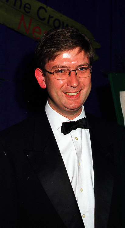 MR NICHOLAS COOPER chairman of the London & Westminster Conservative Association, at a ball in London on 26th November 1999.MZL 19