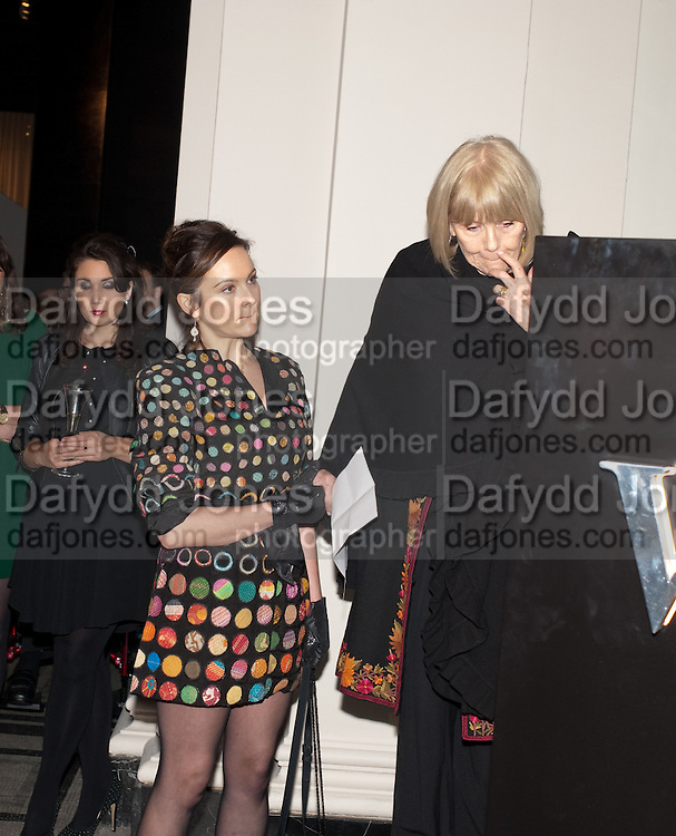 RACHEL STIRLING; DAME DIANA RIGG; PAUL RUDDOCK, Cecil Beaton private view. V and A Museum. London. 6 February 2012