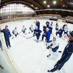 20150203: SLO, Ice Hockey - Practice session of Slovenian Ice-Hockey National Team