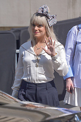 Lily Allen arriving at the Chanel show during Haute Couture Paris Fashion Week Fall/Winter 2018/19 in Paris, France on July 03, 2018. Photo by Julien Reynaud/APS-Medias/ABACAPRESS.COM