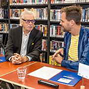 NLD/Zutphen/20191102 - Groot Dictee ter Nederlandse Taal, Jan Siebelink in gesprek met Daan Nieber