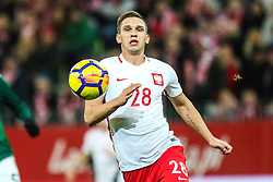 November 13, 2017 - Gdansk, Poland - Jakub Swierczok (POL) during the International Friendly match between Poland and Mexico at Energa Stadium in Gdansk, Poland on November 13, 2017. (Credit Image: © Foto Olimpik/NurPhoto via ZUMA Press)