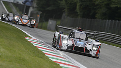 May 11, 2019 - Monza, MB, Italy - UNITED AUTOSPORTS (Hanson and Albuquerque) entering Ascari chicane during Free Practice Session 2 of ELMS italian round in Monza. (Credit Image: © Riccardo Righetti/ZUMA Wire)