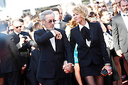 Steven Spielberg and Kate Capshaw attends the Premiere of 'La Venus A La Fourrure' at The 66th Annual Cannes Film Festival on May 25, 2013 in Cannes, France